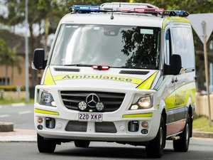 Vehicle rolls on highway in western CQ