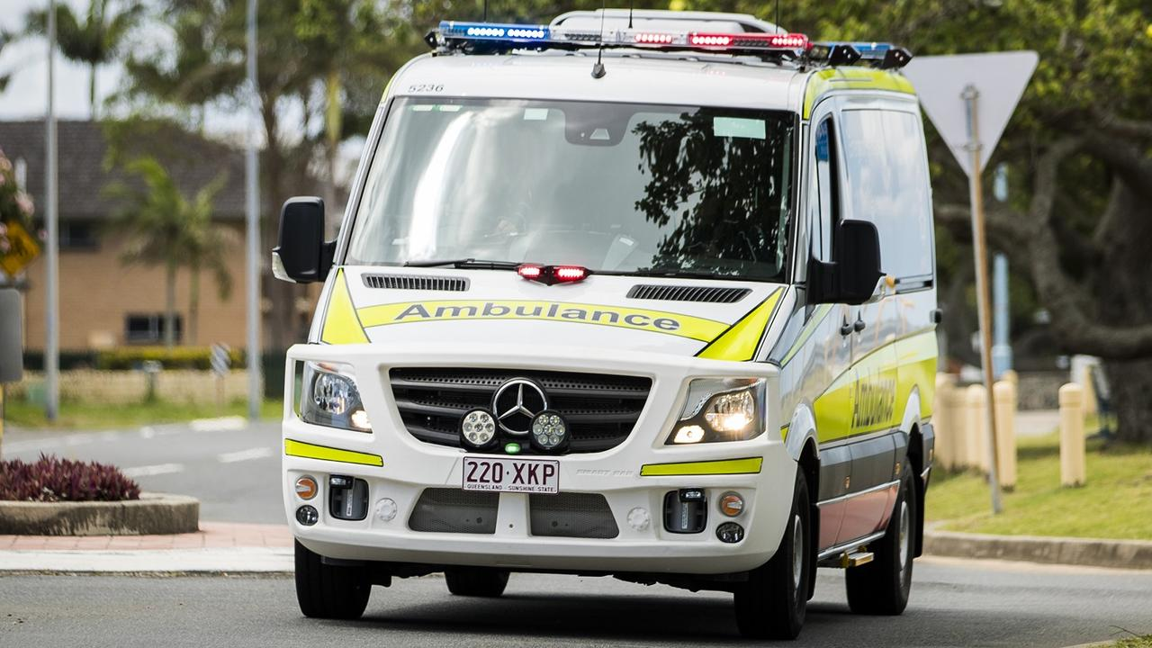 Queensland Ambulance Service attended the scene of a single vehicle rollover north of Clermont this morning.