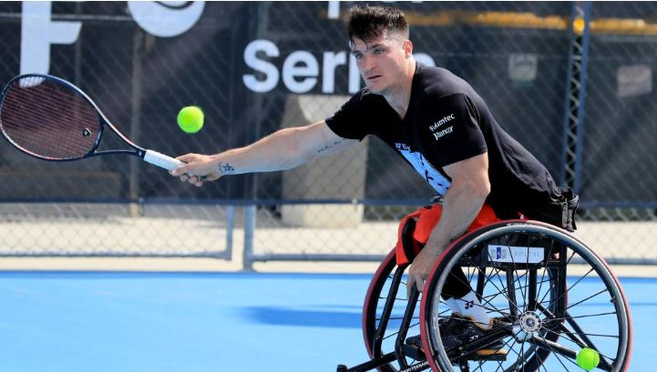 Gustavo Fernandez. The world's top wheelchair tennis stars will play a four-day tournament at Tweed Heads in preparation for the Australian Open.