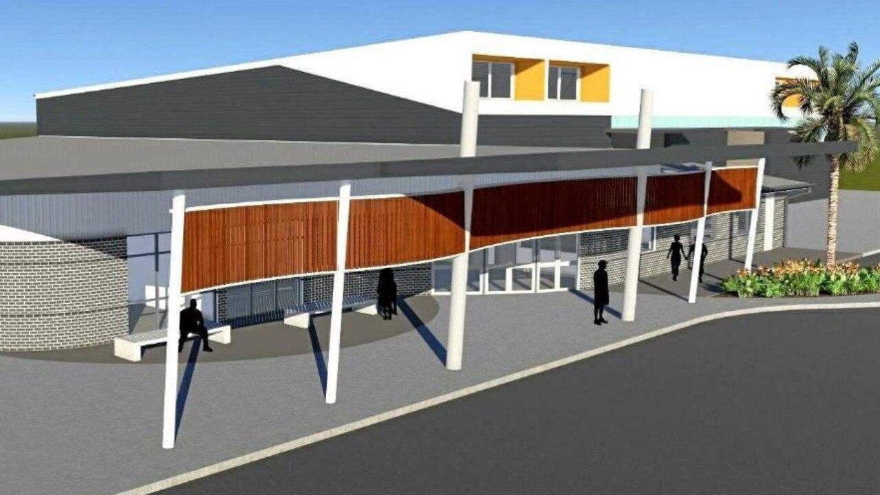 The proposed Multipurpose Centre.