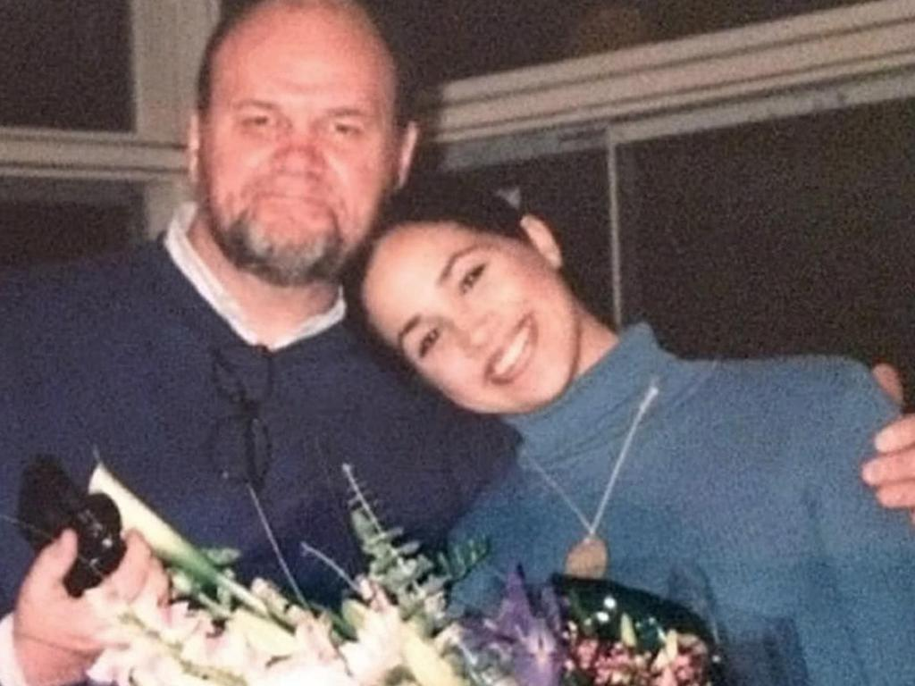 Thomas Markle claims he paid off Meghan's student loans even after she became a star of hit TV show Suits. Picture: Supplied