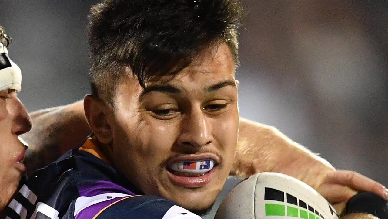 Tino Fa'Asuamaleaui could quit Melbourne early. Photo: Robb Cox NRL Photos
