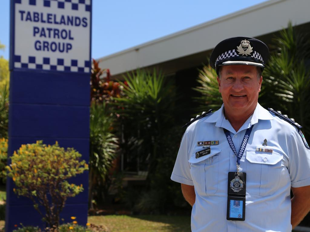 Tablelands Patrol Group Inspector Russell Rhodes. PHOTO: Bronwyn Wheatcroft