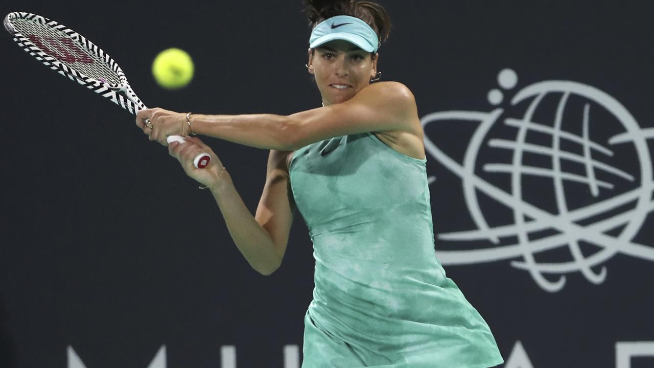 Ajla Tomljanovic will be hoping to better her quarter final appearance of 2014. Picture: AP