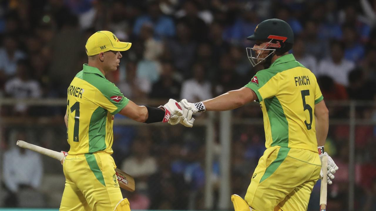 Aaron Finch and David Warner are eyeing the 2023 ODI World Cup.