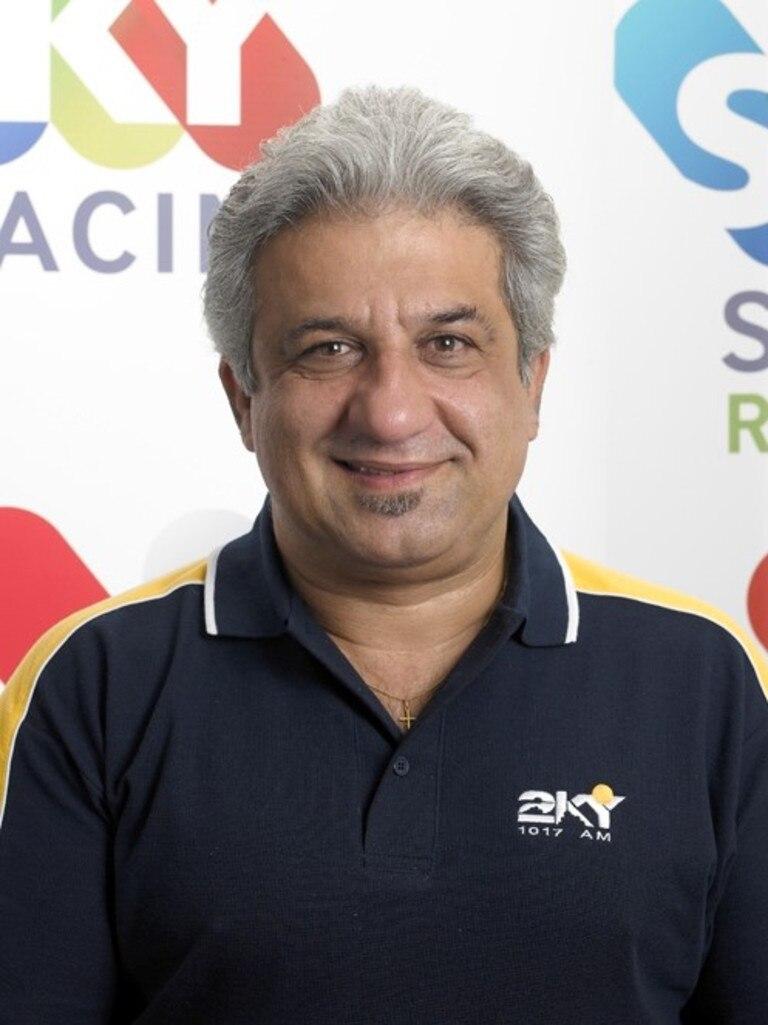 Sports journalist Andy Paschalidis.