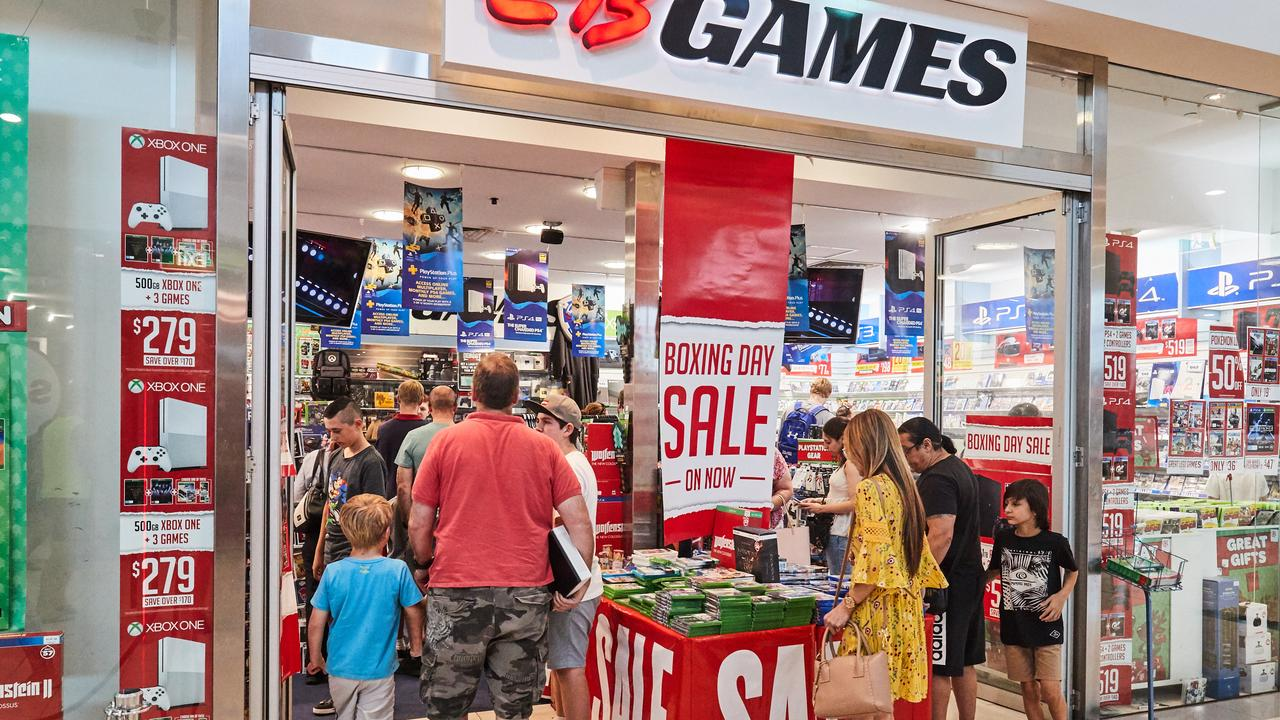EB Games will close at least 19 Aussie stores. Picture: AAP Image/Matt Loxton
