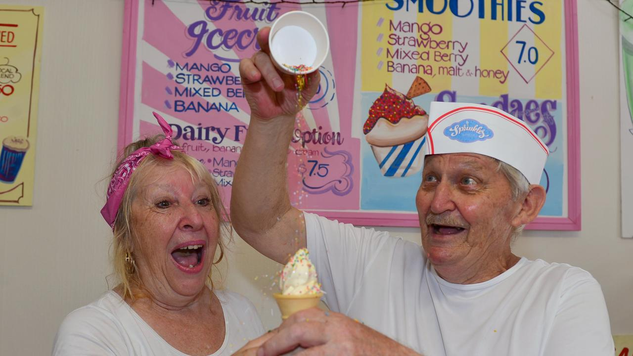 Sprinkles ice cream parlour in Nambour has closed. Owners John Williams and Lorraine Taylor have thanked and farewelled their supporters.
