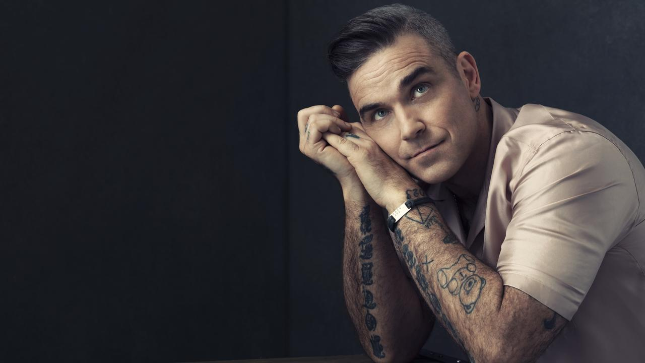 Robbie Williams has revealed what it would take to get him on reality TV. Pic: Supplied