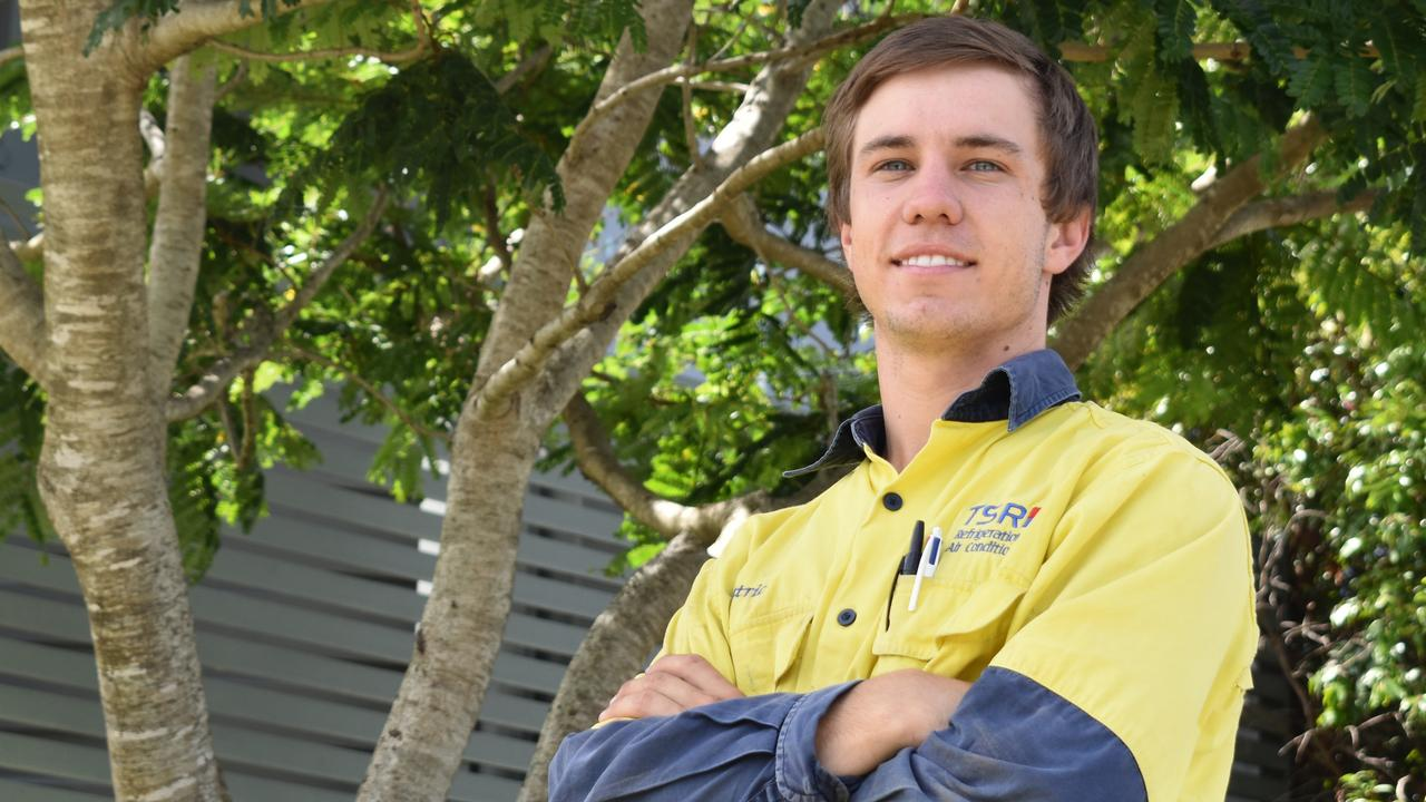 Gympie's star tradesman Patrick Brennan has been nominated for a 2020 7NEWS Young Achiever award.