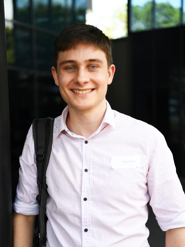 Alastair Ashley is one of the 40 students attending the UQ Rural Clinical School in Rockhampton.
