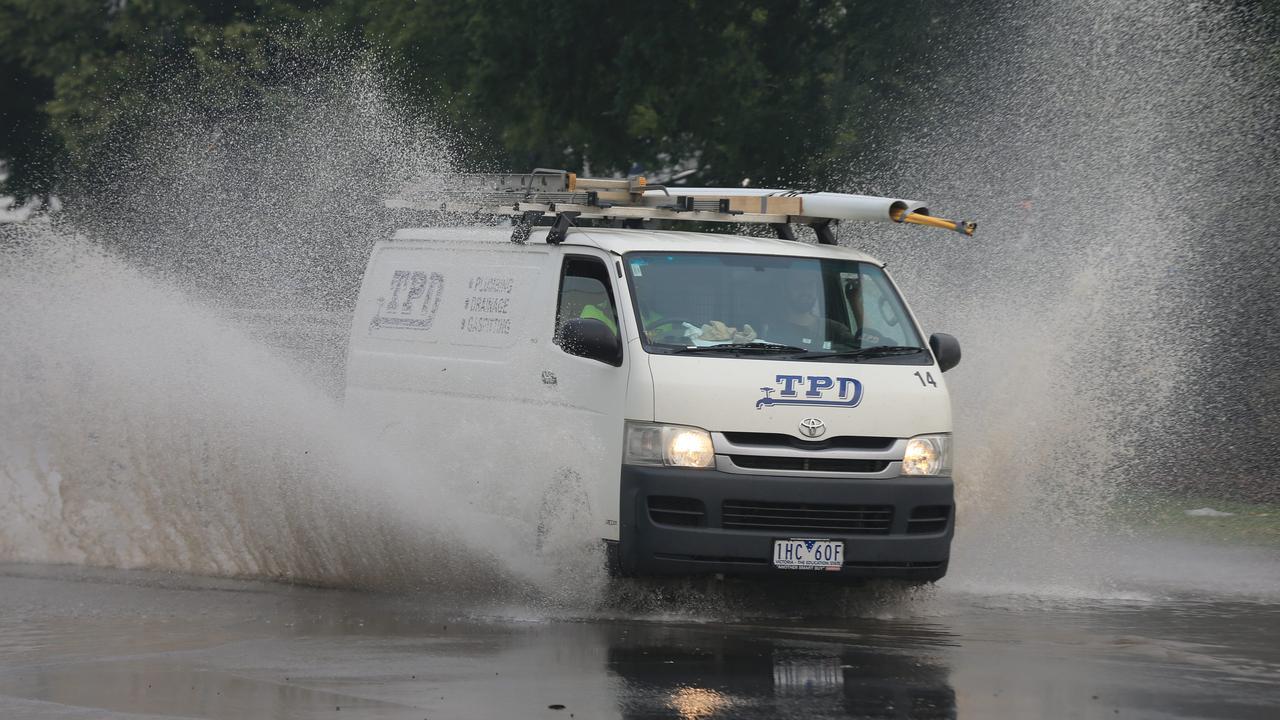 Downpour causes flooding