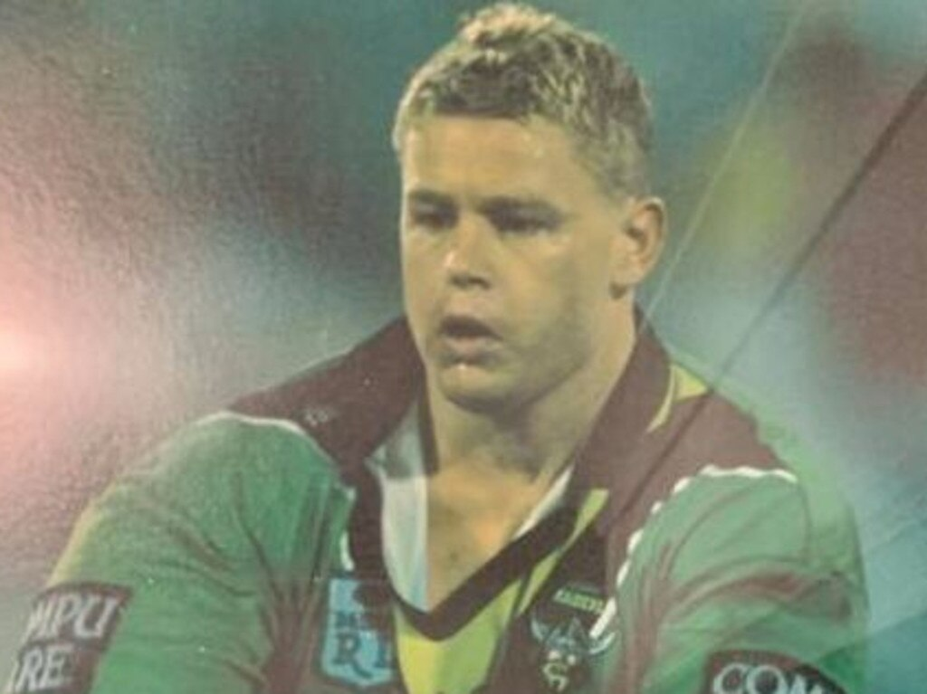 Lawrence pleaded played four games for the Canberra NRL side.
