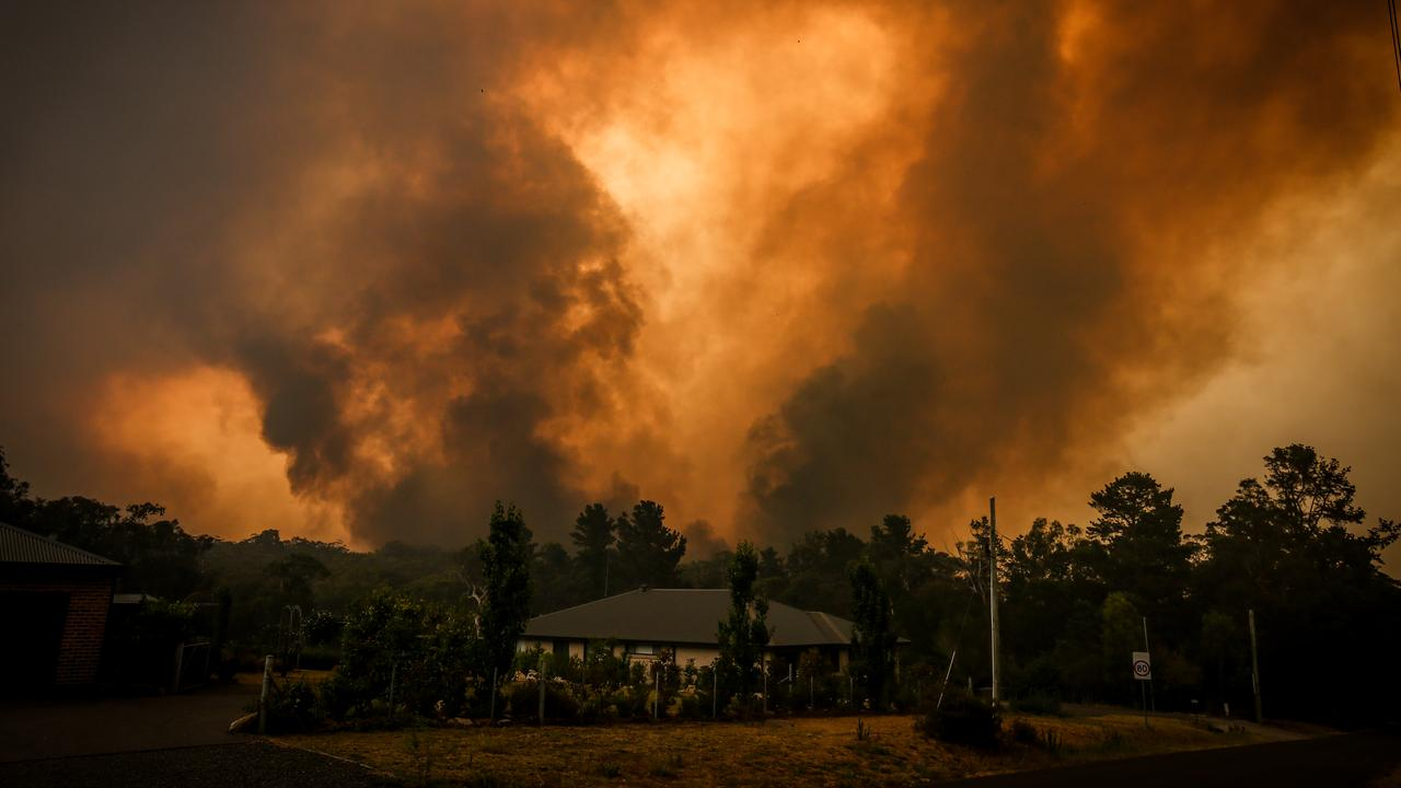 "Bushfire experts and fire chiefs have described conditions this bushfire season as ""unprecedented"". Picture: Getty Images"