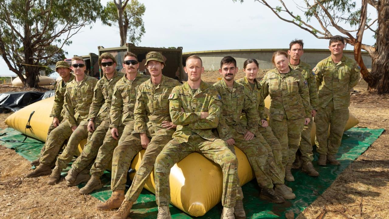 Sappers from the 1st Support Troop, 6th Engineer Support Regiment are deployed to Kangaroo Island to help purify drinking water for the town of Kingscote during Operation Bushfire Assist.