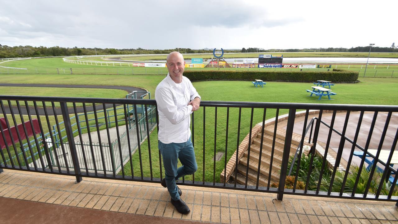 Ballina Jockey Club general manager Matt Bertram.