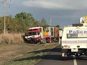 'HORRIFIC SCENE': 26yo killed instantly in B-double crash