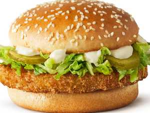 Macca's finally brings vegie burger to Oz