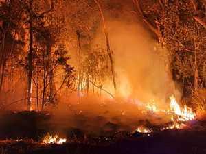 LETHAL THREAT: Bushfires ignite cancerous soil
