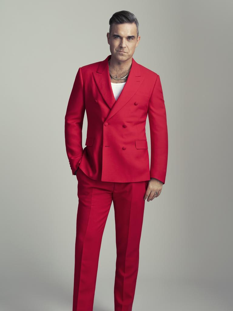 Robbie Williams is only partially vegan.