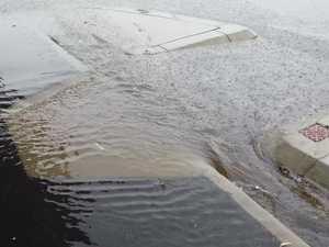 Rain in Rockhampton
