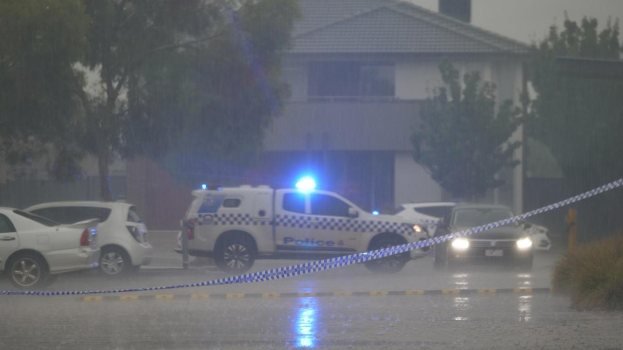 Police were called at 3.15pm on Wednesday. Picture: Point Cook TV