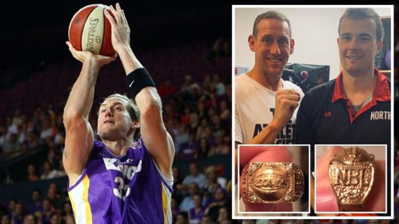Kings legend Ben has been reu-Knight-ed with his NBL championship ring.