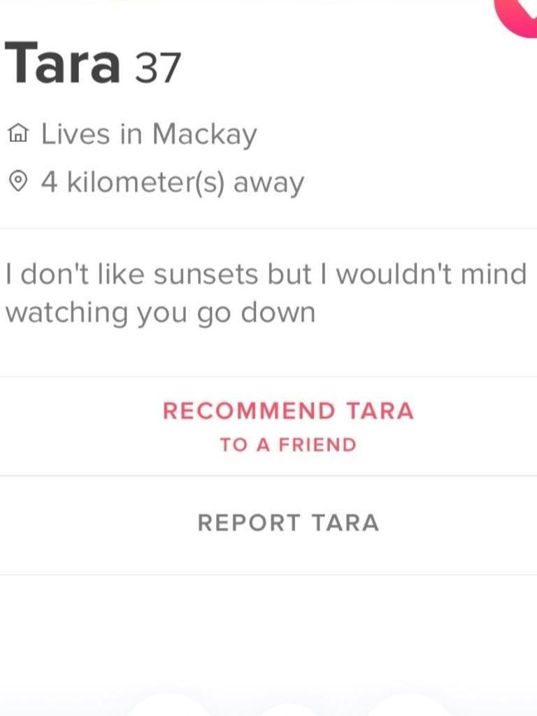 Tara wins Tinder for today!