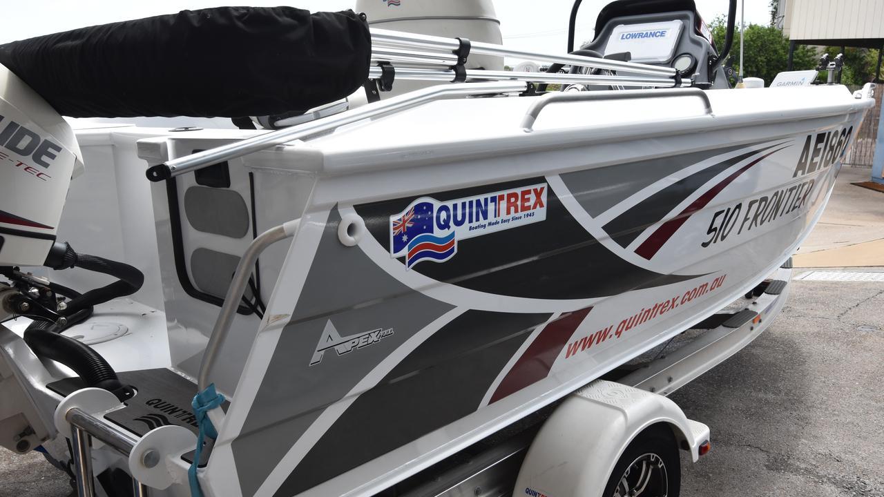 Luke Houweling's Quintrex 510 Frontier