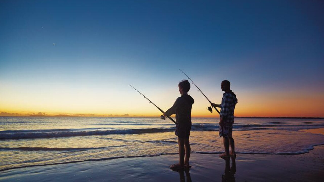 Mackay has many popular fishing spots, great for the family. Picture: Contributed.