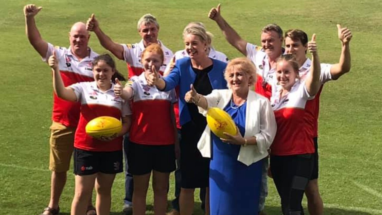 GRANT CONTROVERSY: Decisions made by Senator Bridget McKenzie in the lead up to last May's Federal Election are being called into question. She met with Capricornia MP Michelle Landry and the Yeppoon Swans to approve a $146,200 grant for the upgrade to their sports ground.