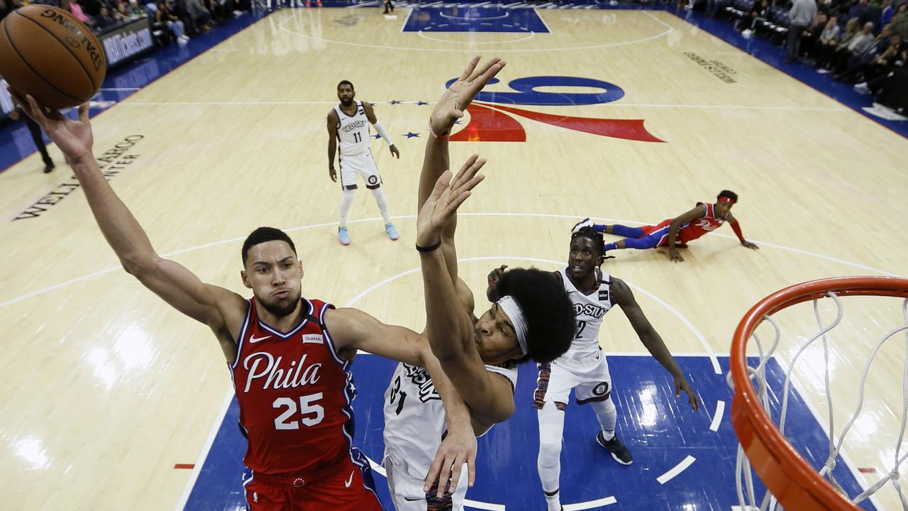 Philadelphia 76ers' Ben Simmons is deadly from the paint.