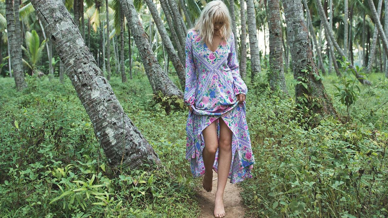 Spell & The Gypsy is a multi-million dollar bohemian fashion label founded by sisters Elizabeth Abegg and Isabella Pennefather,.