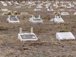 Caring for dry, dusty cemetery