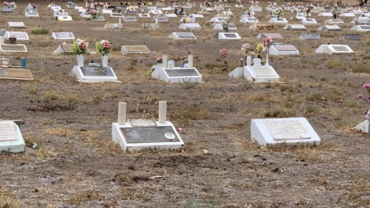 PAY RESPECTS: Residents are displeased with the job council staff are doing in maintaining the Biloela Lawn Cemetery.