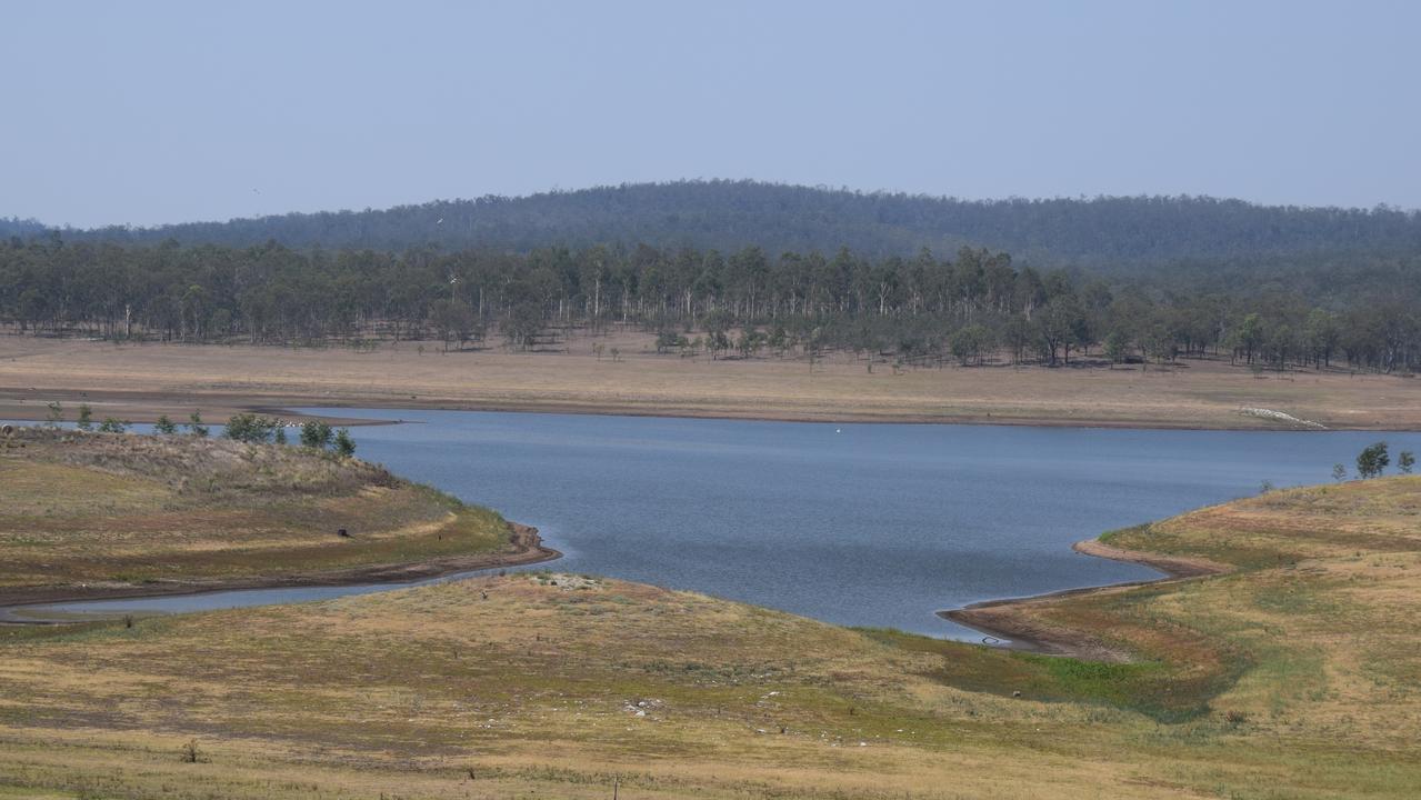 WATER SHORTAGE: Bjelke-Petersen Dam levels continue to drop. Photo: File
