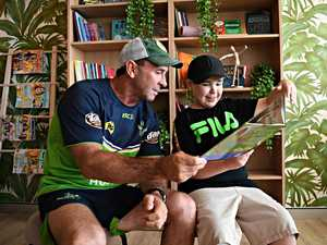 New autism centre gets a visit from Ricky Stuart
