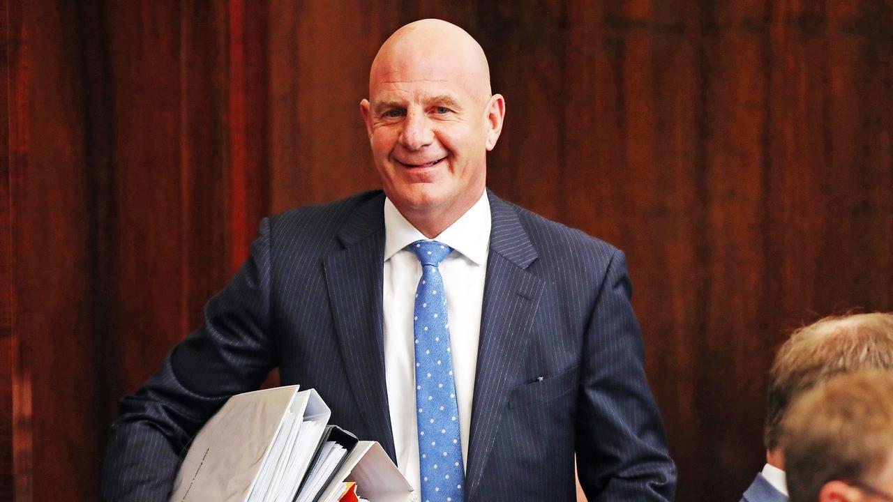 Treasurer Peter Gutwein. Picture: ZAK SIMMONDS