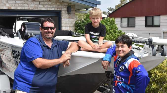 ME AND MY BOAT: Versatile family fisher