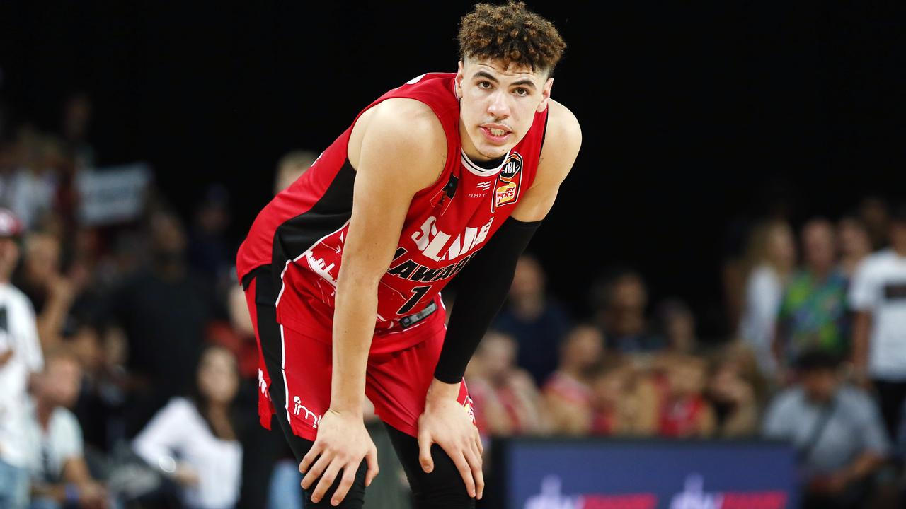 LaMelo Ball's time in the NBL could be over. Picture: Getty Images