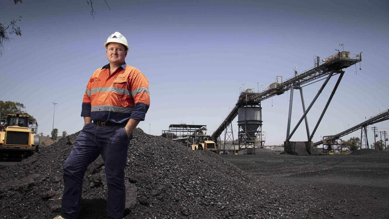 Andy Scouller, Wash Plant Manager at the New Acland Coal Mine. Photography: Russell Shakespeare