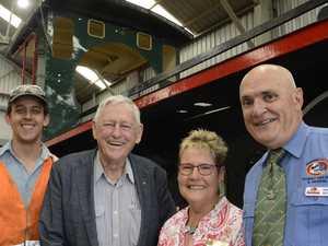 Berghofer donates $300k to historic train restoration