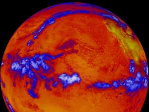 NASA reveals just how hot the world has become