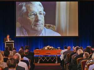 Hundreds farewell Toowoomba icon at service