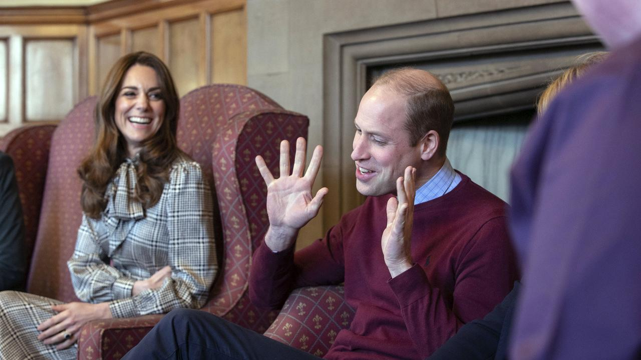Prince William made a thinly-veiled comment about the Megxit crisis. Picture: Charlotte Graham/Pool Photo via AP