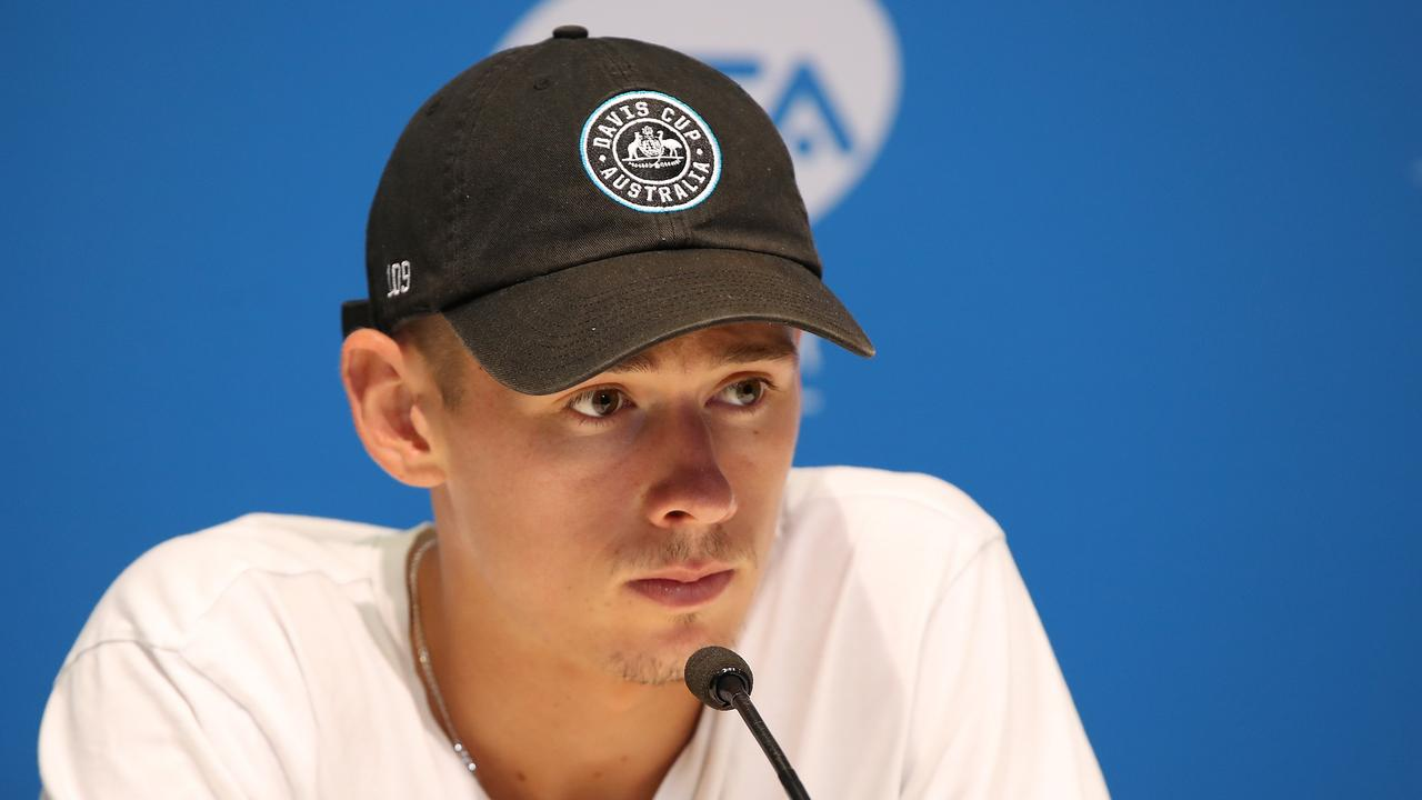 Alex de Minaur has pulled out of the Australian Open.