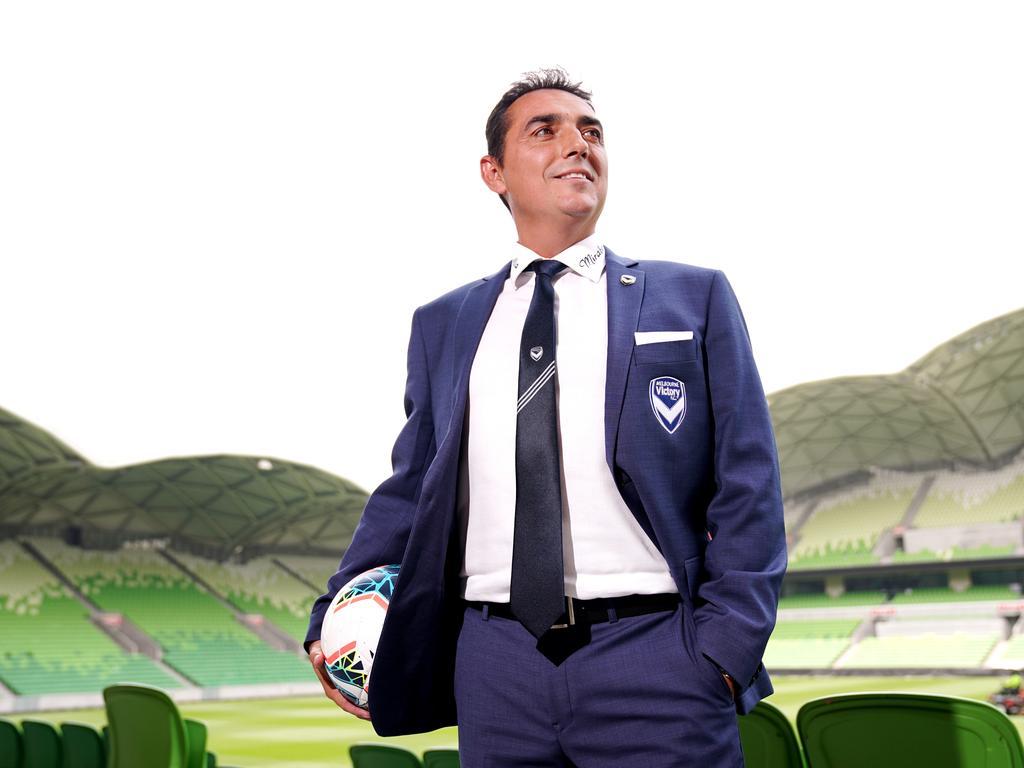 Melbourne Victory's new head coach Carlos Salvachua (AAP Image/Michael Dodge)