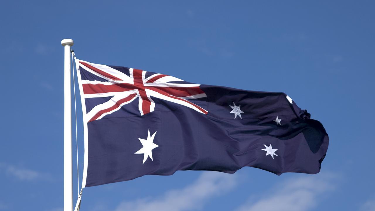 Australia flag.