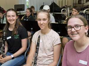 ( From left ) Claire Tiller, Vivien Mollenhauer and