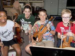 ( From left ) Ayesha Saleh, Henry McMaster, Ethan